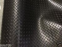 Rubber Flooring Garage Sheeting Matting Rolls 1M-- 1 x 1.5M Wide X 3MM THICK