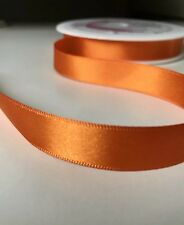 Shindo Orange Ribbon Double Satin Ribbon 15mm  Ribbon 1M