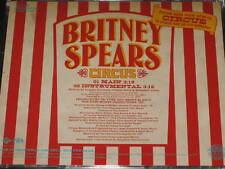 BRITNEY SPEARS - Circus - 2 Track DJ PROMO CD! w/ Instrumental! RARE! OOP!