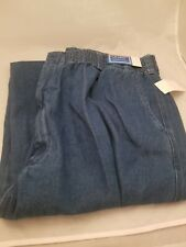 NWT LD Sport International Men's Blue Denim Pants 2X x 30