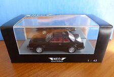 HONDA PRELUDE MKI BLACK 1980 NEO 43482 1/43 NOIR PHASE 1 LHD LEFT HAND DRIVE