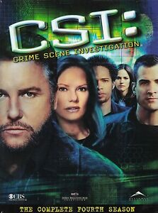 CSI: Crime Scene Investigation The Fourth Season DVD USA REGION 1 NEW Sealed