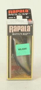 Vintage Fishing Lure Rapala Rattl'n Rap RNR-5 SD Shad 3.5 In   B1F4