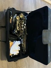 Medini Soprano Saxophone (black Nickel Plating)