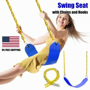 Heavy Duty Swing Seat Accessories Replacement Set Outdoor Playground Tree Swing