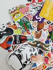 5 Sticker Set - Mixed Random Assorted Laptop Notebook Sketchbook Stickers - Fun