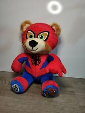 "Build A Bear BAB Workshop Spiderman Marvel Stuffed Plush Toy Animal 10"""