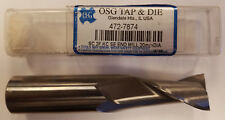 OSG 472-7874 20mm Dia 2-FLT Carbide Keen Cut Center Cutting End Mill #7A-Q0003