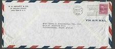 DATED 1948 COVER PREXY 25c #829 SOLE USAGE PAYS AIR MAIL NY TO SEE INFO