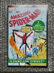 Spider-Man 1 comic con Dallas. avec signature de stanlee authentifié