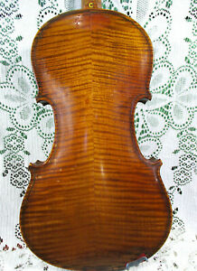 Gorgeous Old Violin Dated 1923 Stradivarius Labeled 4/4 Ready to Play! NR