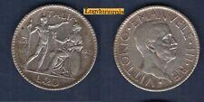 Italie 20 Lire 1927 R TTB Vittorio Emanuele II - Italia