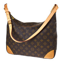 Auth LOUIS VUITTON Boulogne 35 Shoulder Bag Monogram Leather BN M51260 86BS494