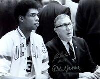 Kareem Abdul Jabbar John Wooden Signed Autographed 11X14 Photo UCLA Bruins JSA A