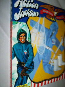 1971 Mego Action Jackson Outfit - Snowmobile Outfit