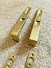 Solid Brass Lever Action Flush slide door lock bolt 150mm