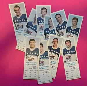 1970 Dad's Cookies Philadelphia Flyers TEAM SET Clarke Parent + 10 cards SUPER!