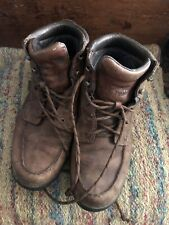 Red Wing Irish Setter Leather Ankle Work Boots Mens 11.5 M Waterproof Lace Up