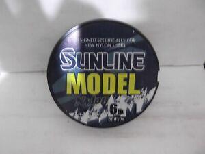 Sunline Model Nylon 6 lb clear monofilament  660yd spools