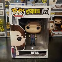 Funko Pop! Movies Pitch Perfect Beca #221 Vaulted Vinyl Figure With Protector