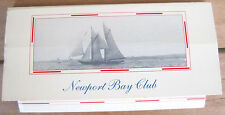 NEWPORT BAY CLUB - matchbox, boîte d'allumettes VINTAGE