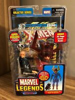 "Marvel Legends   PROFESSOR X   6"" Figure   BAF Galactus Series   2005 Sealed NEW"