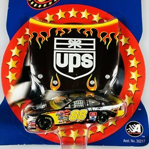 NASCAR 2002 Winners Circle #88 DALE JARRETT 1/64 Die Cast Car Race Hood UPS