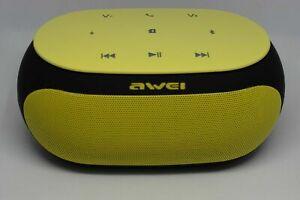 Bluetooth Speaker Portable Wireless Handsfree Awei Y200 LOUD BASS Aux & SD Slot