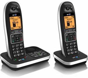 BT7610 Digital Cordless Phones Nuisance Call Blocker Answering Machine Twin REF