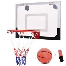 Bedroom Over-The-Door Mini Basketball Hoop Includes Basketball & Hand Pump