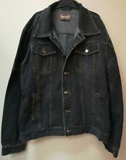 Men's Large Black Denim Jacket