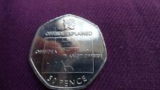 2012 London Olympics 50p Coin - Football Offside Rule Explained