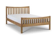 Julian Bowen Bergamo 5FT Kingsize Bed In Solid Oak