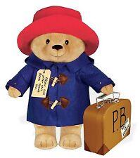 "YOTTOY Classic Paddington Bear 16"" Toy With Suitcase"