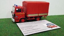 RENAULT BACHE SAPEUR POMPIER camion 1/50 SOLIDO 31016 voiture miniature collecti