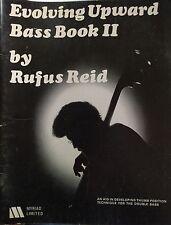 RUFUS REID 1977 Rufus Reid Evolving Upward Bass Book II for Double  Bass Guitar