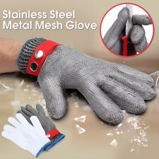Safety Cut Proof Stab Resistant Stainless Steel Metal Mesh Butcher Work Glove