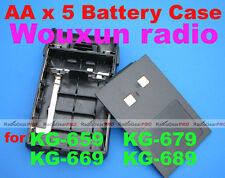 Original Wouxun AA battery case for KG-UVD1P KGUVD1P KG-669 KG-679 KG-689 KGUVD1