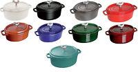 Staub Cast Iron 5.75-qt Coq au Vin Cocotte Cooking Pot - 9 COLORS CHOICE NEW