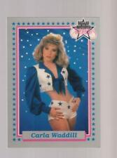 1992 Enor Dallas Cowboys Cheerleaders #37 Carla Waddill card