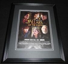 Pillars of the Earth 2010 Framed 11x14 ORIGINAL Advertisement Starz Ridley Scott