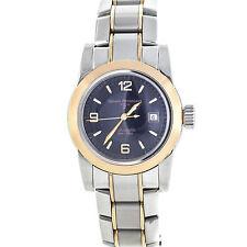 Women's Solid Gold Case Round Watches