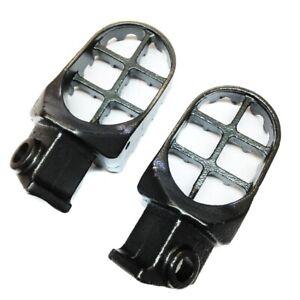 Gunmetal Black MX Racing Footpegs For KTM 50 65 125 250 300 360 SX 525SX 400 520