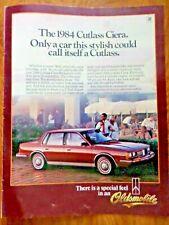 1984 Oldsmobile Olds Cutlass Ciera Ad