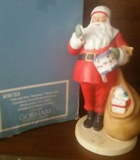 """Vintage Norman Rockwell Figurine """"A Drum For Tommy"""" Gorham Fine Bone China 1986"""