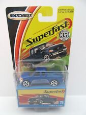 2004 Matchbox Superfast No.75 Ford F-150 Pick-up Truck - Blue - Mint/Boxed
