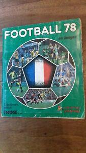 Album Panini Foot 1978 Championnat de France 78  Division 1 COMPLET + POSTER