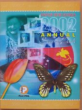 2002 PAPUA NEW GUINEA ANNUAL STAMP PACK  MINT STAMPS