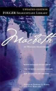 Macbeth (Folger Shakespeare Library) - Mass Market Paperback - VERY GOOD