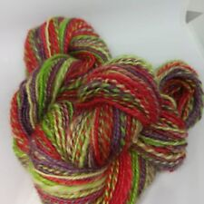 Handspun 2-ply  wool 130 yards